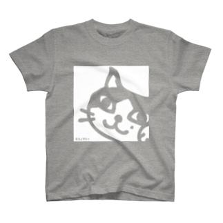 ネコシャのフクちゃんスクエア T-shirts