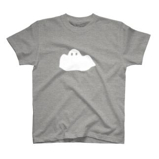 逃げるおばけ T-shirts