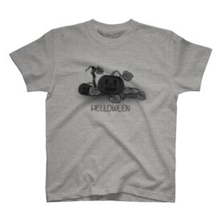 ハロウィンかぼちゃ T-shirts