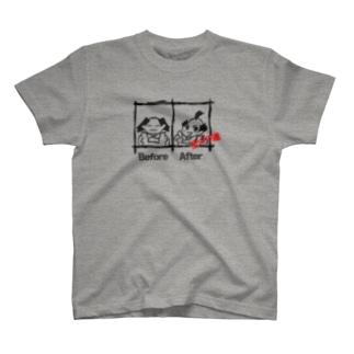 全ヅラ連の全ヅラ連 整う T-shirts