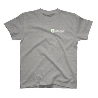 Springin' ロゴマーク T-shirts