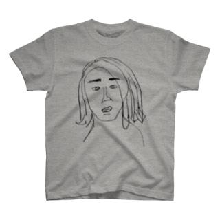 なほちゃんは黒い(両面デザイン) T-shirts