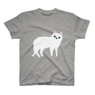 しろねこ T-shirts