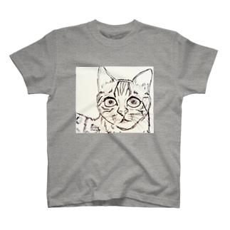 ネコA T-shirts