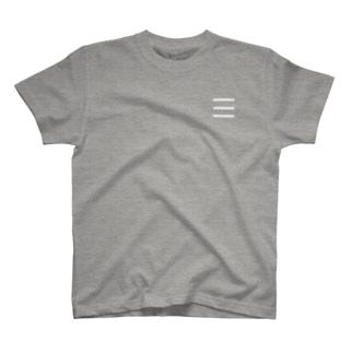 Comic Line - 7 (White) T-shirts