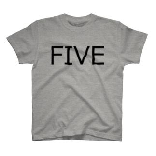 たまに見るアレ風FIVE T-shirts