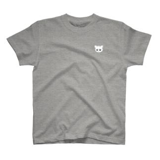 IOLYのしろねこさん T-shirts