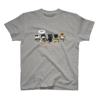 ネズミ狩りツアー : 乙 T-shirts