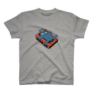 SYOKENのカバとカセットテープ(カラー) T-shirts
