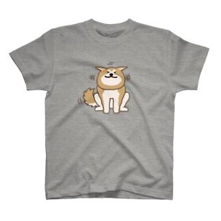 あっあっあきた犬(ニコニコ) T-Shirt
