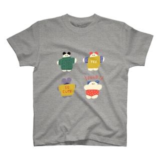 ぬくぬくニットさん T-shirts