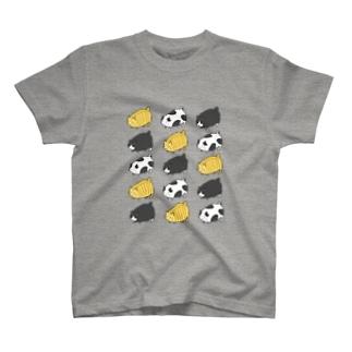 デブ猫 T-shirts