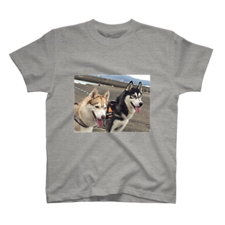 船を見る T-shirts