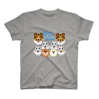 Blue Sky Blue様専用 ABCDOGS T-shirts