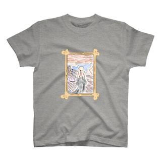 ゆるかわムンク T-shirts