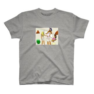 壁画に描かれたペニッサーファントム T-shirts