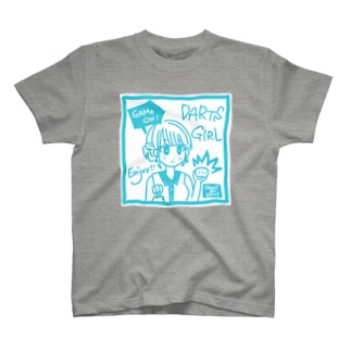 GAME ON! 【SWEET LIGHTBLUE】 T-shirts