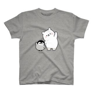 心くばりペンギン / シロクマといっしょver. T-shirts