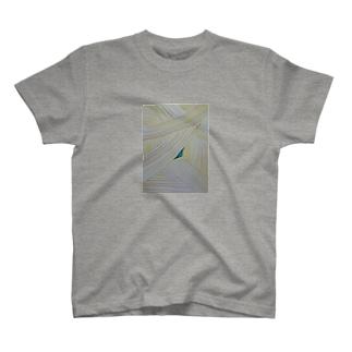 オアシス(グレー) T-shirts