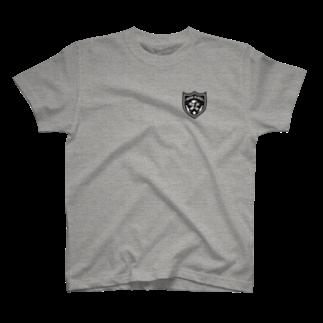 onezsideのスカルワッペン T-shirts