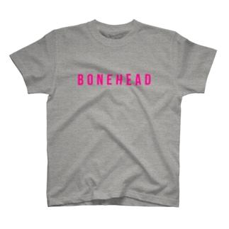 ボーンヘッドTシャツ T-shirts