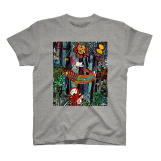 森の中 T-shirts