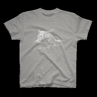猫と空気の猫と空気 T-shirts