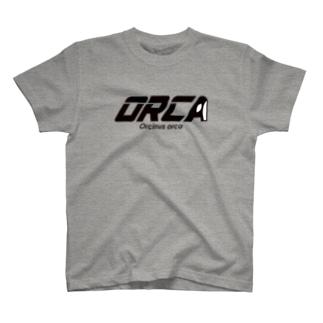 ORCA ロゴ T-shirts