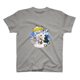 もやしめじぽんかんだいふく T-shirts