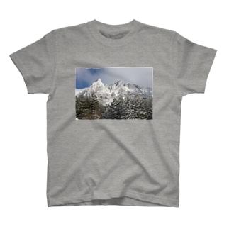 百名山シリーズ(八ヶ岳) T-shirts