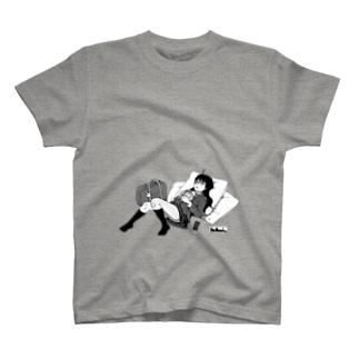 寝っころGIRL vol.4『小石倉かな子』 T-shirts