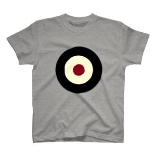 サークルa・黒・クリーム・チョコ T-shirts