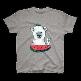 動ととのしろくま T-shirts