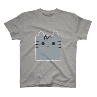 さばねこ角形(顔Ver.) T-Shirt