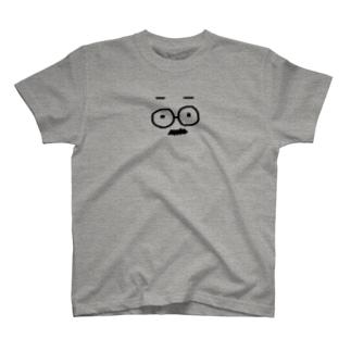 ヒゲメガネ T-shirts