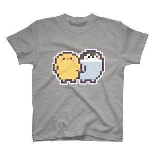 なかよしのヒナ T-shirts