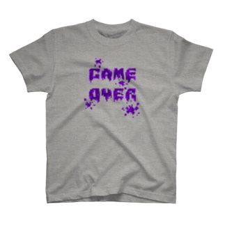 GAME OVER(Poison) T-shirts