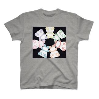 イエローパンダとなかまたち T-shirts