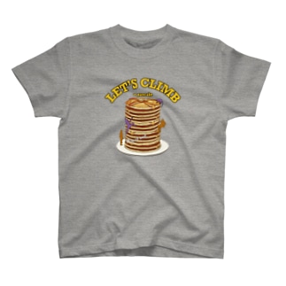 Climbing pancake T-shirts
