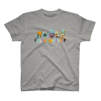 SAUNA ZOMBIES - SAUNA MONSTERz T- T-Shirt