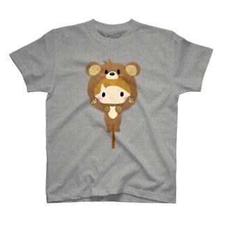 着ぐるみシリーズ(森のくまさん) T-shirts
