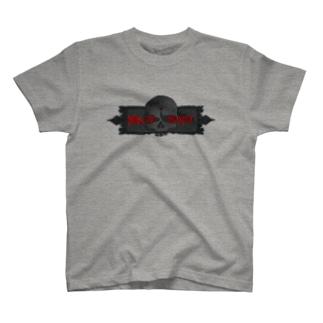 HEADSHOT BLK CRACK T-Shirt