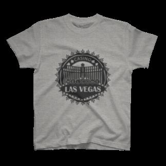 FourArrowsのLas Vegas (グレー) T-shirts
