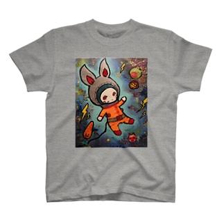 うさ宇宙飛行士 T-shirts