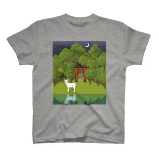 白鹿 T-shirts