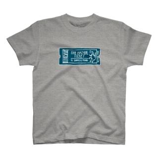 恐竜時代タイムマシンチケット〜ジュラ紀行き〜 T-shirts