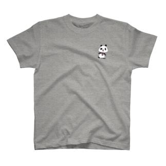 何だったか思い出せないパンダ T-shirts