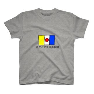 5秒で考えた架空の国シリーズ T-shirts