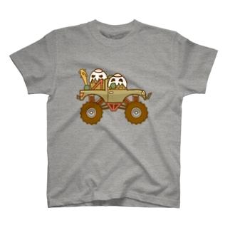 ガパオ族のモンスタートラック T-shirts