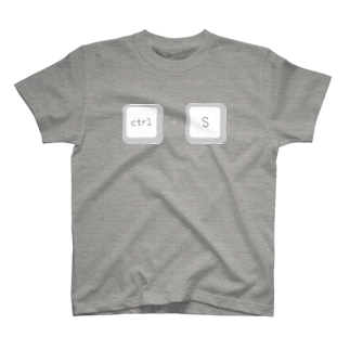 sapphirusのctrl + S T-shirts